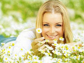 цветы и счастье