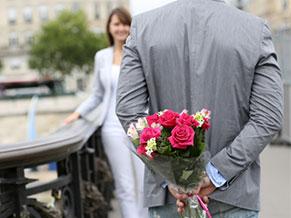 цветы на первом свидании