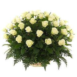 чистота бело-зеленых роз в корзине.jpeg