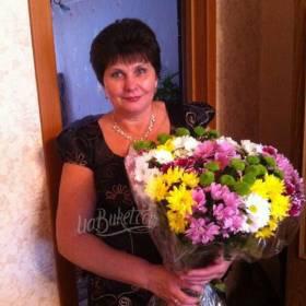 Букет хризантем разноцветный для сестры - фото