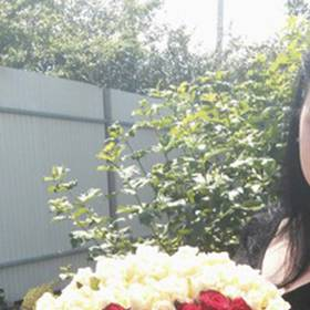 Букет в форме сердца для жены - фото