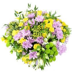 круглый разноцветный букет хризантем.jpeg