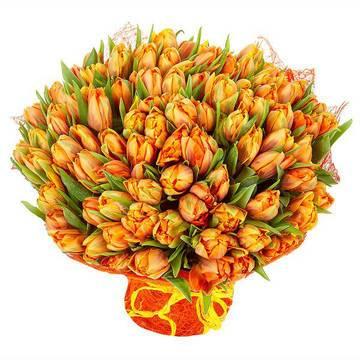 охапка жарко-оранжевых тюльпанов.jpeg