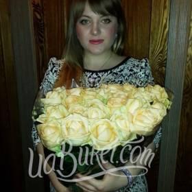 Букет роз с доставкой для жены - фото